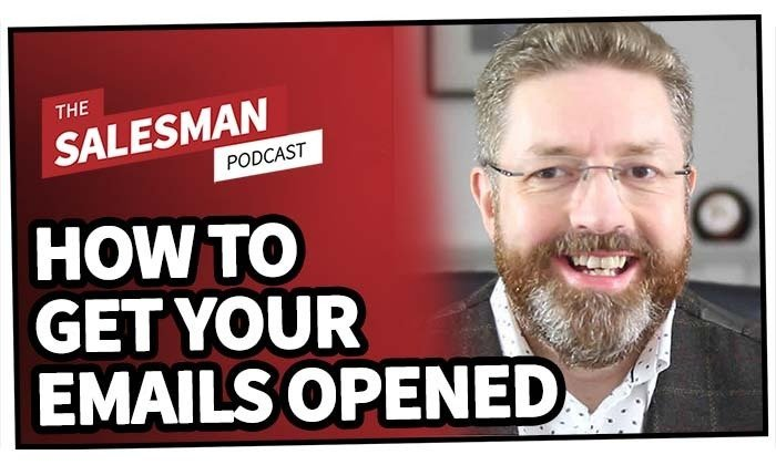 205: How To Get Your Sales Emails OPENED! With Ian Brodie