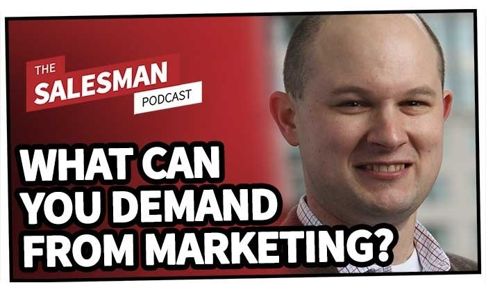 216: What Can We DEMAND From Marketing? (They Exist To Support You!) With Matt Heinz