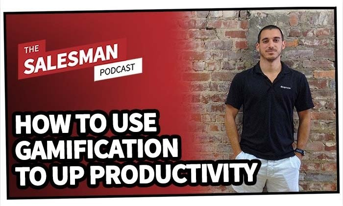 238: How To Use Gamification To Increase Your Sales Productivity With Travis Truett