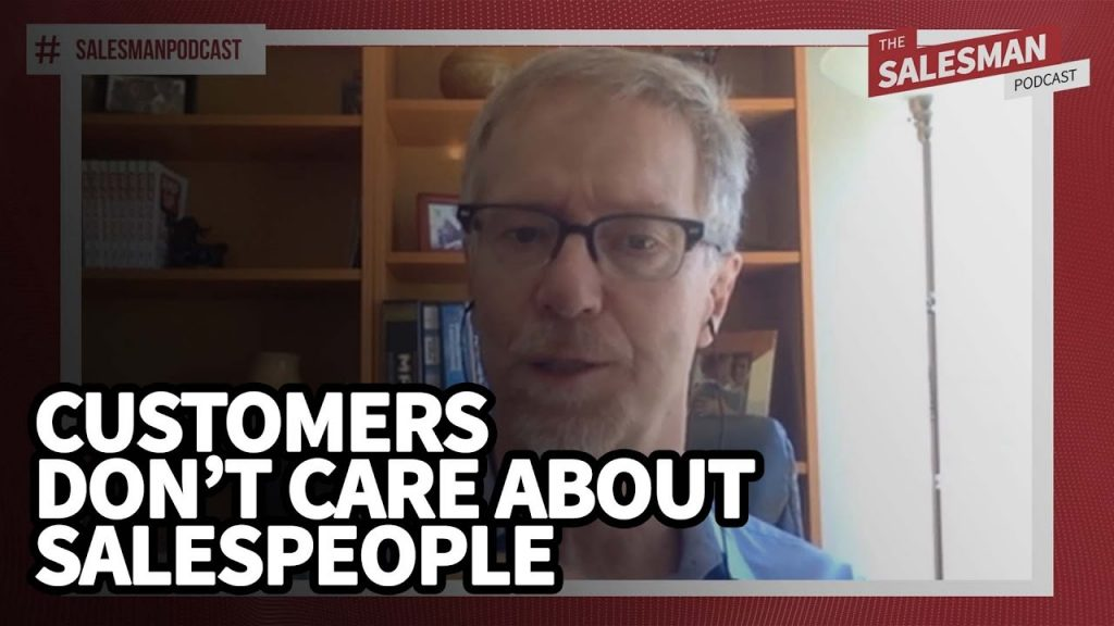 Why your customers care less about you than you think they do…
