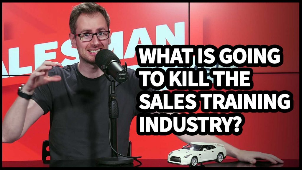 #AskWillShow – What will finally break the sales training industry? Favourite guest you've had on the show?
