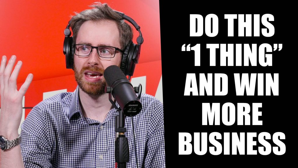 """#529: THE """"ONE THING"""" You Need To Do To WIN MORE BUSINESS With Geoff Woods"""