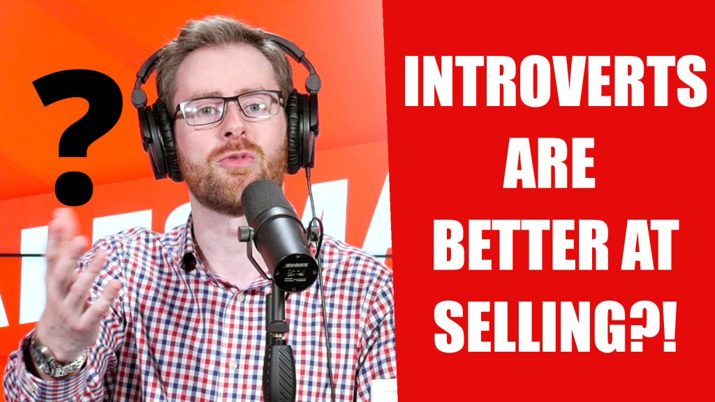 #524: INTROVERTS Are Better Sales People?! With Matthew Pollard